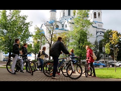 Жители IQ Гатчина отправились на необычную экскурсию | Достопримечательности Гатчины  на велосипеде