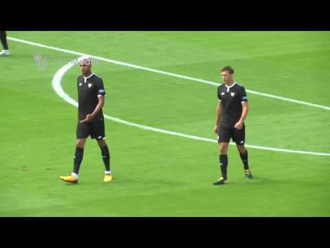 Resumen Southampton 2 -  SFC 0 (5-08-17) Sevilla F.C.