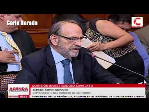 Yehude Simon Munaro se enfrenta a Víctor Andrés García y Mauricio Mulder en la comisión Lava Jato