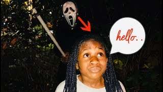FUNNY HALLOWEEN PRANK ON 9 YEAR OLD  (EPIC REACTION 👻😱)