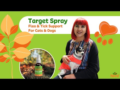 NHV Target Spray: Flea & Tick Support For Cats & Dogs