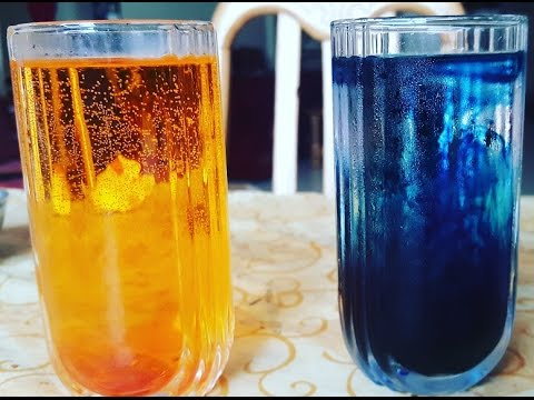 Hot Cold Water Experiment With Food Dyes Youtube