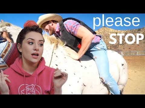 Can Logan Paul STOP Riding Horses? Markiplier Rides A Horse & MORE - Raleigh Reacts