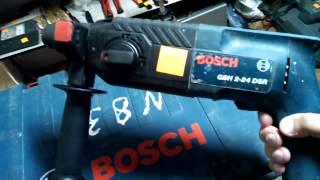 Перфоратор Bosch GBH 2-24 DSR. Обзор инструмента