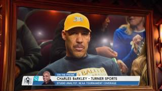 CBS and TBS NCAA Tournament Analyst Charles Barkley on Lonzo & LaVar Ball - 3/20/17