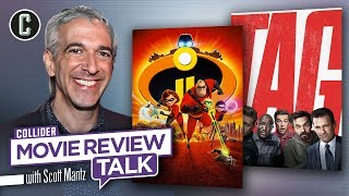 Incredibles 2 & Tag Movie Review Talk with Scott Mantz