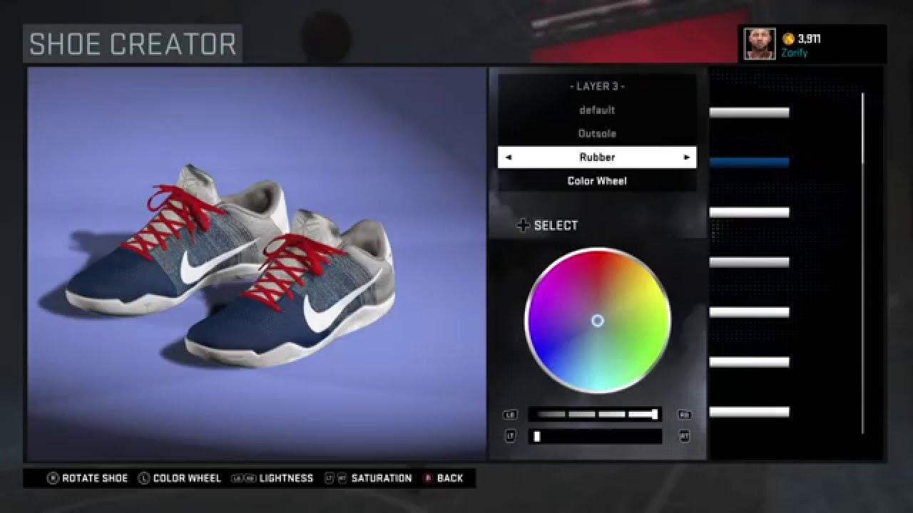 timeless design 94bd9 4a4bb ... order nba 2k16 shoe creator nike kobe 11 pe demar derozan a6198 e833c