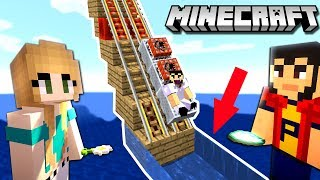 MINECRAFT | Trenuletul INTRA in APA ?