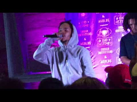 Earl performs 2 new songs (free show at Urban Outfitters)