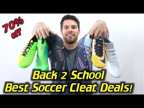 Best Soccer Cleat Deals for Back to School! – Labor Day Weekend Sales