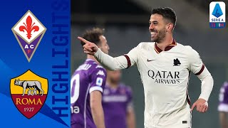 Fiorentina 1-2 Roma | Roma secure victory with last minute goal! | Serie A TIM