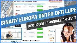 Roboter-Vergleich - Binary Europa unter der Lupe