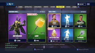 MOTH COMMAND SET OUT NOW! | FORTNITE ITEM SHOP TODAY! | FORTNITE | NEW SKIN (30/11/2018)