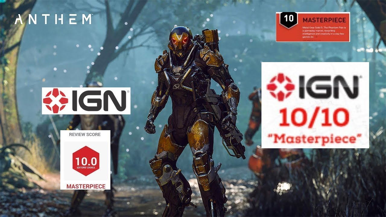 Anthem Review 10 10 Ign Youtube