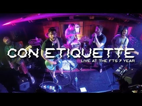 "CON ETIQUETTE - ""Adios"" (Live at the FTS Gallery 7 Year)"