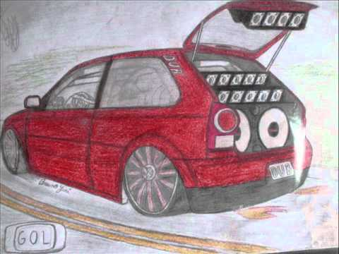Desenhos De Carros Rebaixados Youtube