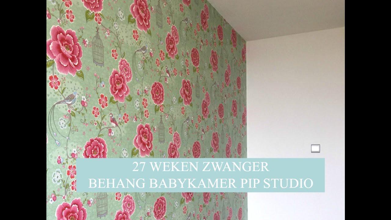 Beroemd Weekvlog #12: 27 weken zwanger ♡ Behang babykamer Pip Studio  TM95