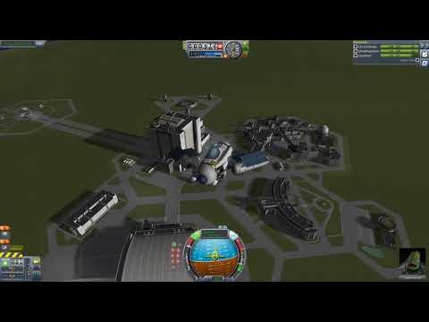 KSP   Variable Orientation Plane   Thrust Reverse And Reaction Wheel Experiment
