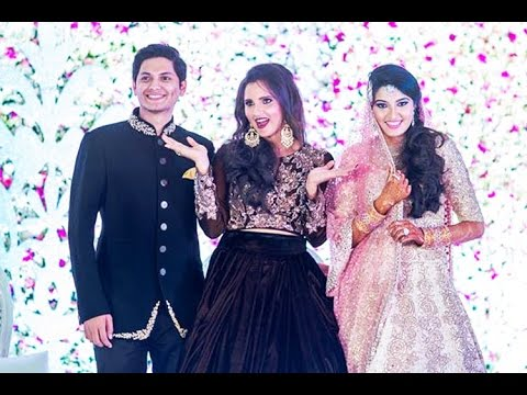 Sania Mirza Sister Anam Marriage Exclusive Video