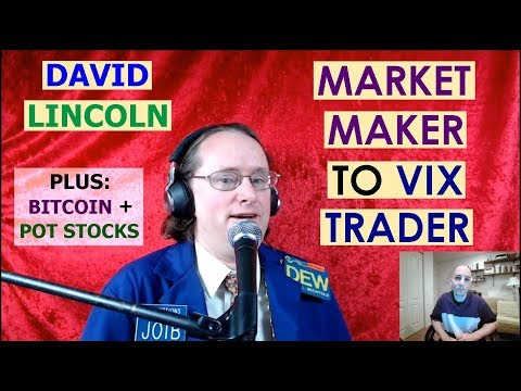 David Lincoln: Market Maker to VIX Trader. Plus Marijuana Stocks & Bitcoin Outlook