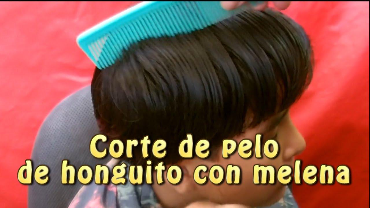 Corte de pelo para hombre estilo hongo