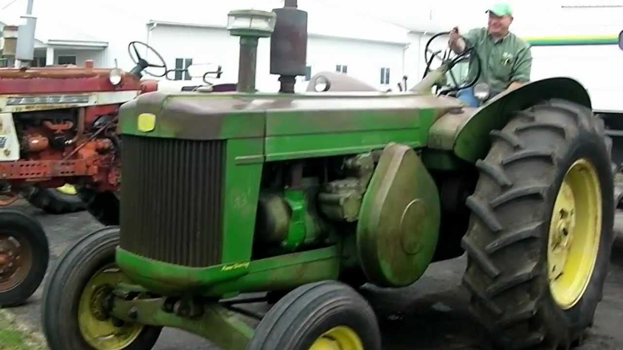 1958 john deere 820 black dash tractor youtube. Black Bedroom Furniture Sets. Home Design Ideas