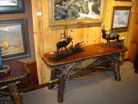 Charmant Adirondack Rustic Furniture By Jim Howard