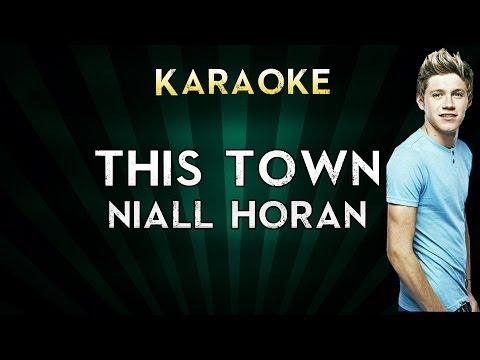 Niall Horan - This Town   LOWER Key Karaoke Instrumental Lyrics Cover Sing Along