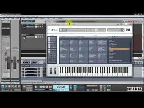 CAKEWALK SONAR X1  - How to use SoftSynths