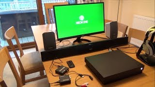 Video How to Connect a Xbox One X to a DVI Monitor download MP3, 3GP, MP4, WEBM, AVI, FLV Maret 2018