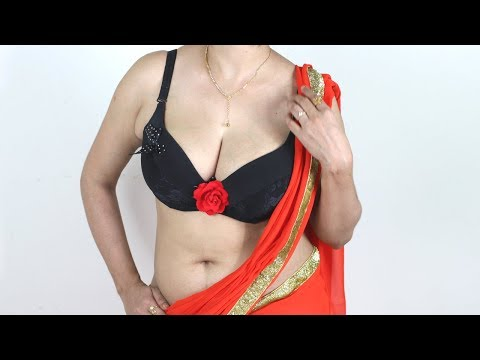 How to wear saree quickly & easilywithin few minutes to look like slim | How to drape sari