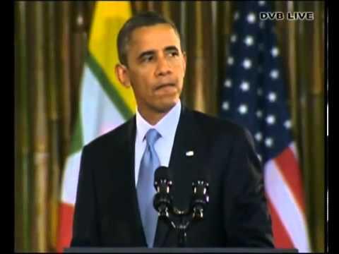 Obama speech at University of Yangon   DVB Live   YouTube