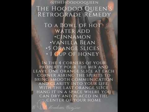 HOODOO COMMUNICATION SPELL| MERCURY RETROGRADE