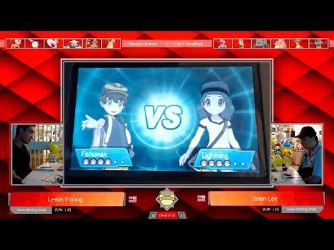 Top 4 Semfinal | VGC18 Pokémon Malaysia Premier Challenge Winter #2