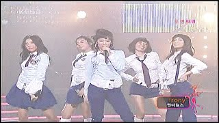 "원더걸스 Wonder Girls ""IRONY / 아이러니"" Live KBS Music Ba…"