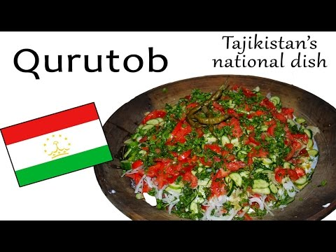How to make Qurutob (Tajikistan's national dish) - Cultural Relay Project #7