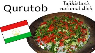 How to make Qurutob (Tajikistan
