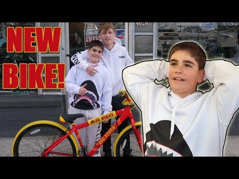 KONRAD GIVES FAN NEW SEBIKE! (BIG FLYER)