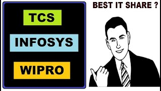Infosys (Vs) wipro (Vs) TCS which IT share is best l कोनसा IT शेअर अच्छा हे in Hindi by SMkC