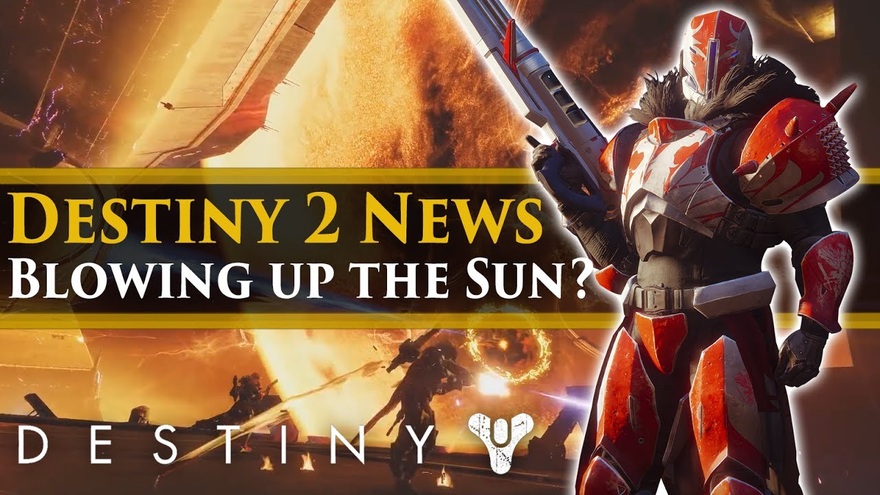 Destiny 2 News - Do the Cabal Destroy the Sun in Destiny 2? Cabal Supernova  Weapon? (Spoilers?)