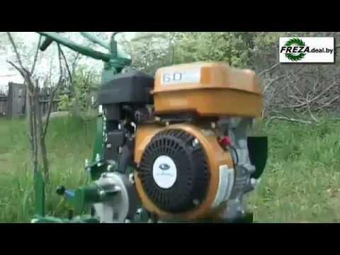 Навесное оборудование на минитрактор из мотоблока. Мотоблок Каскад + адаптер Кама 4*4