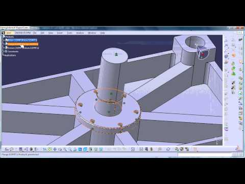 CATIA V5 Generative Assembly Structural Analysis