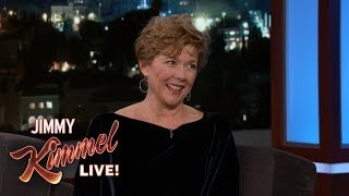 Jimmy Kimmel Embarrasses Annette Bening with Miami Vice Clip