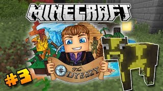 """""""THE LUCKY COW!"""" - Minecraft: The Odyssey #3 (Modded Survival)"""