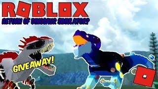 Roblox Dinosaur Simulator - DINO SIM'S POSSIBLE RETURN! Albino Giveaway