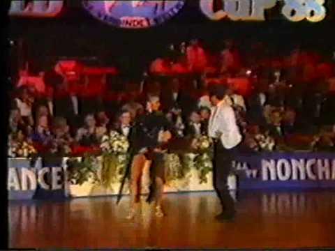 1988 Super Worldcup Professional Latin Part 4/8 Burns Fairweather (SCO)