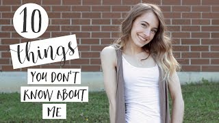 Baixar 10 Things You Probably Don't Know About Me + A SPECIAL ANNOUNCEMENT!