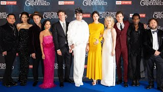 FANTASTIC BEASTS 2 UK Premiere Red Carpet - The Crimes of Grindelwald