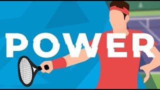 Tennis Forehand POWER - KINETIC CHAIN Science Explained (Step 1)
