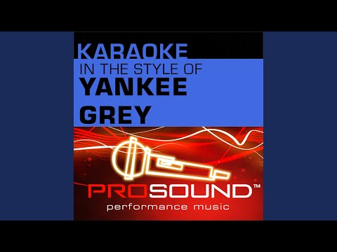 All Things Considered (Karaoke Lead Vocal Demo) (In the style of Yankee Grey)